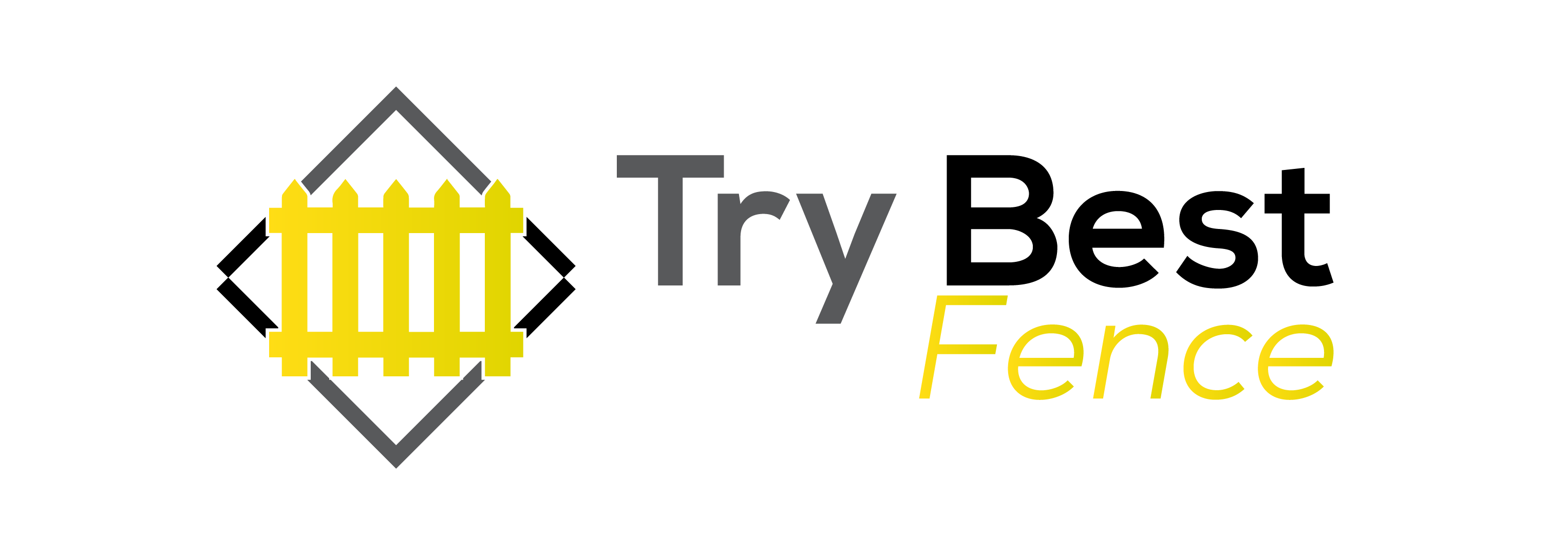 Try Best Fence Sticky Logo